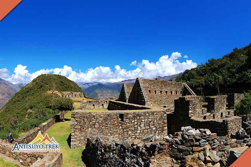 Archaeological complex of Choquequirao.