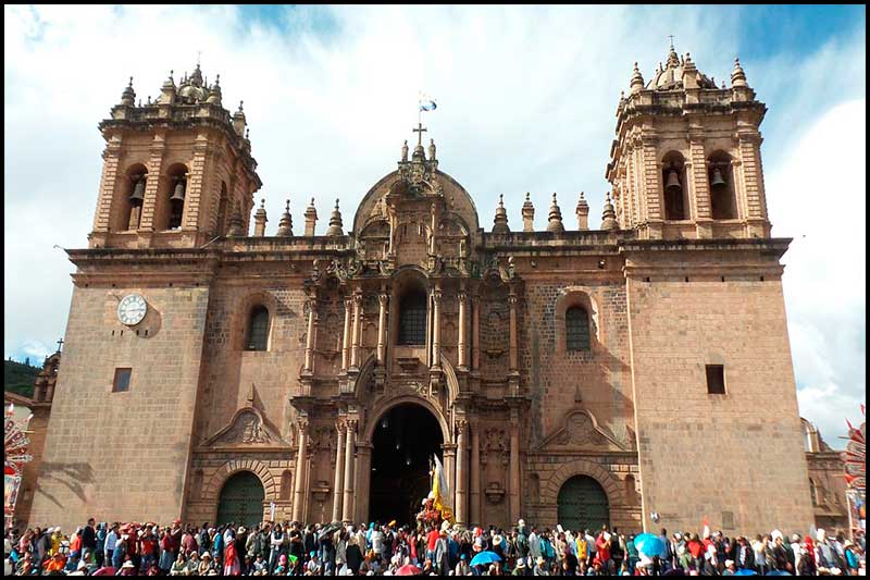 Cuzco Cathedral.