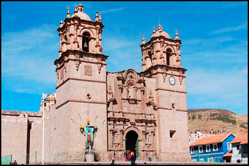 Cathedral of Puno.