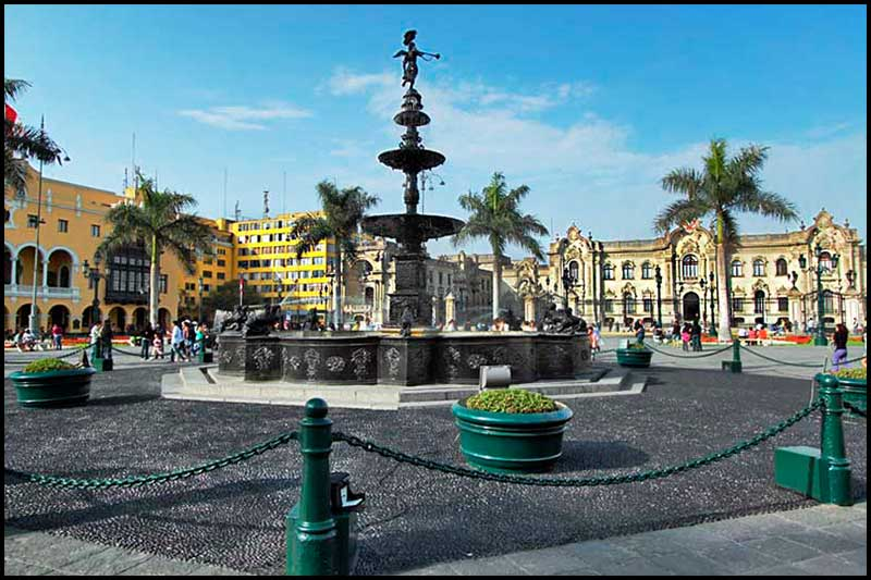 Colonial Lima.