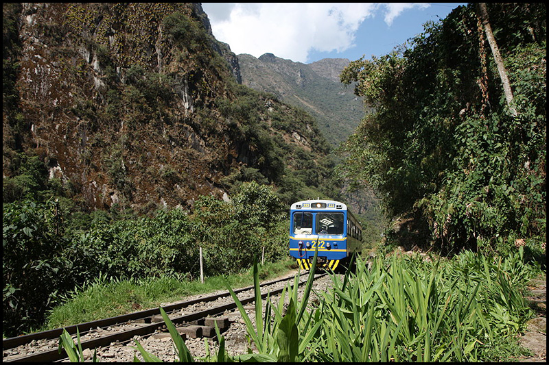 PeruRail is one of two railway companies authorized to offer transportation within the national park and to the town of Aguas Calientes.