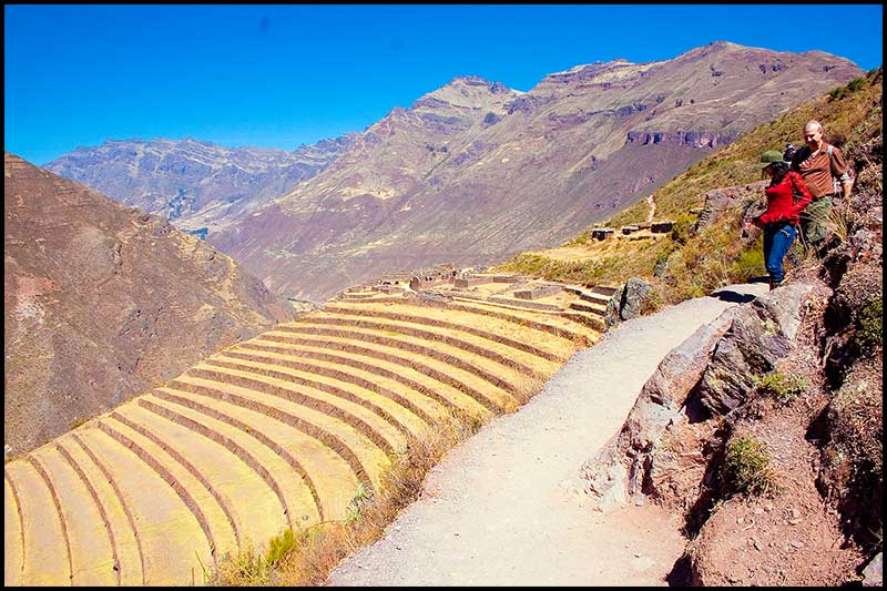 Pisac Archaeological Park.