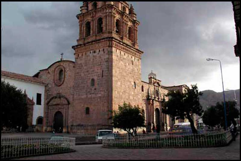 Square of Santo Domingo.