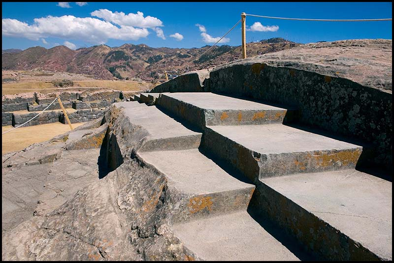The fortress of Sacsayhuamán.