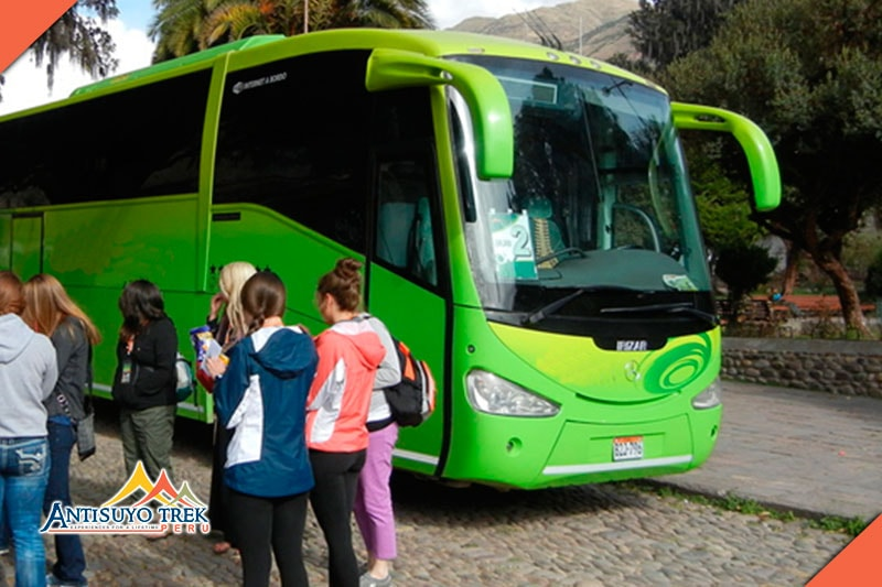 Return to Cusco by bus.