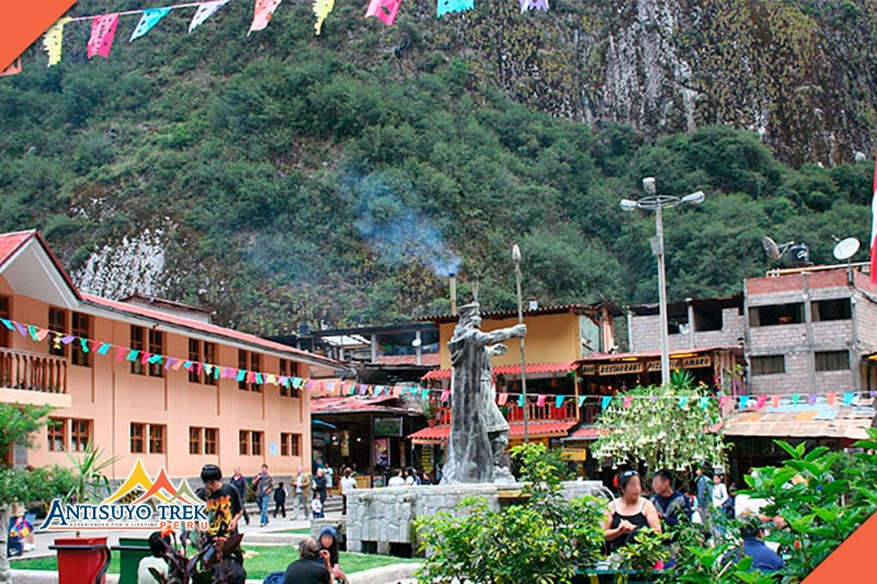 town of Aguas Calientes