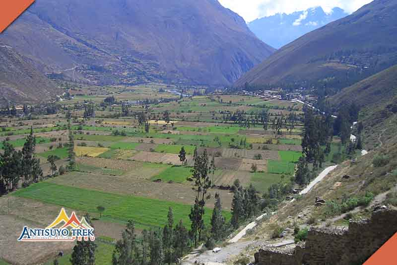 The Incas' Sacred Valley.
