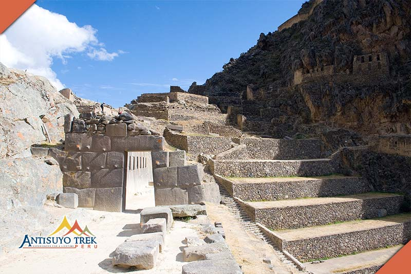 Archaeological complex ollantaytambo.