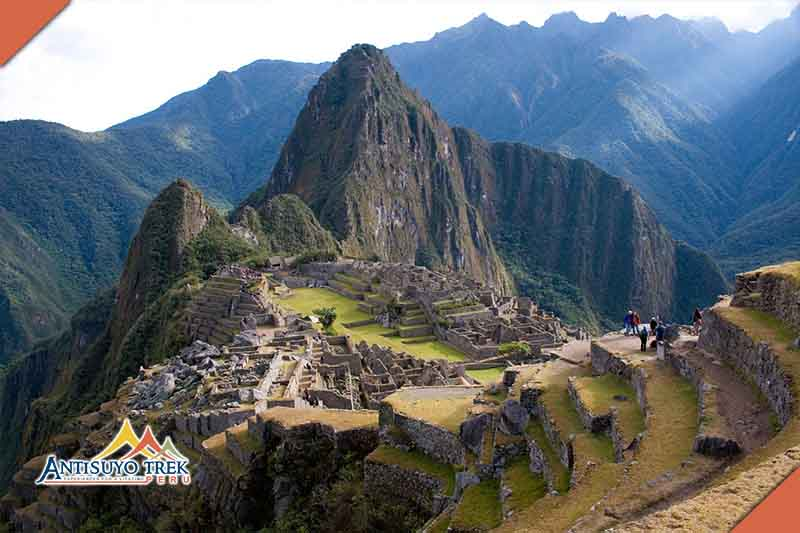 Archaeological site of Machu Picchu.